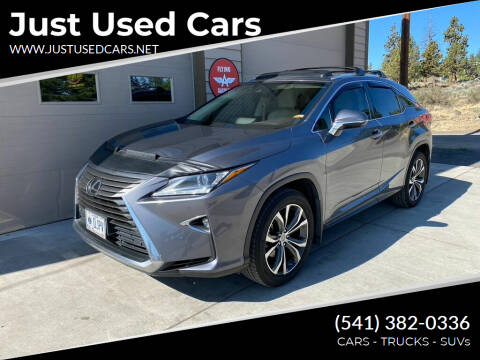 2016 Lexus RX 350 for sale at Just Used Cars in Bend OR