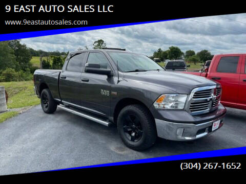 2014 RAM Ram Pickup 1500 for sale at 9 EAST AUTO SALES LLC in Martinsburg WV