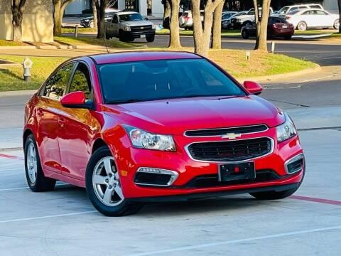 2015 Chevrolet Cruze for sale at Texas Drive Auto in Dallas TX