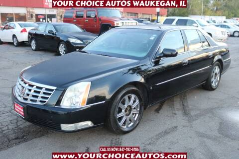 2008 Cadillac DTS for sale at Your Choice Autos - Waukegan in Waukegan IL