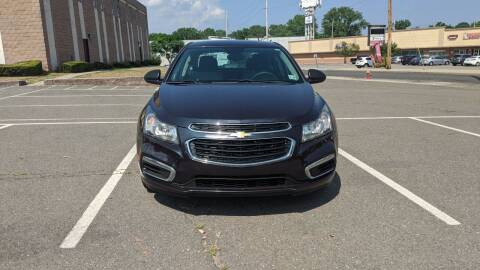 2015 Chevrolet Cruze for sale at Shah Motors LLC in Paterson NJ