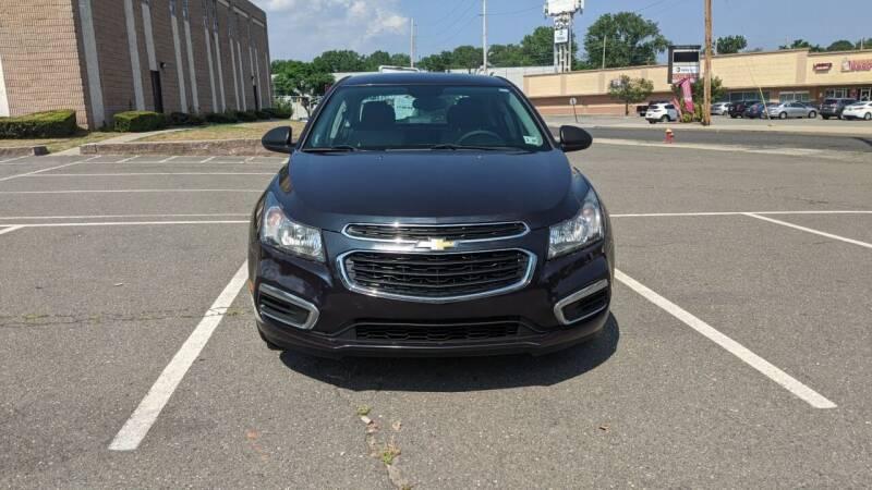 2015 Chevrolet Cruze for sale at Shah Motors LLC in Paterson NJ