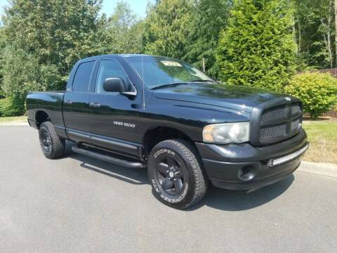 2002 Dodge Ram Pickup 1500 for sale at Money Man Pawn (Auto Division) in Black Diamond WA