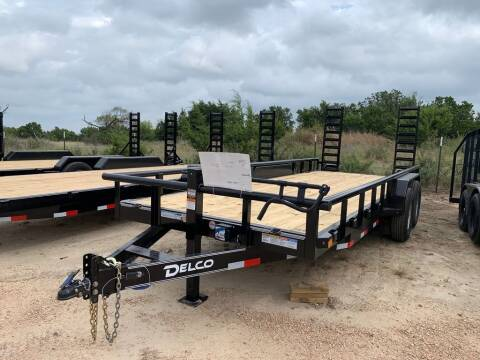 """2021 DELCO  - Equipment 83"""" X 20' -  for sale at LJD Sales in Lampasas TX"""