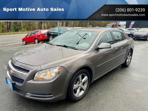 2011 Chevrolet Malibu for sale at Sport Motive Auto Sales in Seattle WA