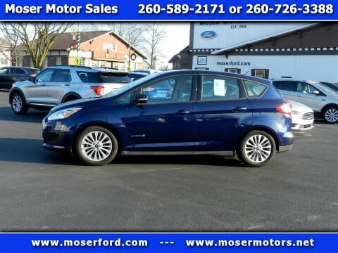 2017 Ford C-MAX Hybrid for sale at Moser Motors Of Portland in Portland IN