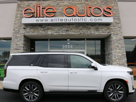 2021 Cadillac Escalade for sale at Elite Autos LLC in Jonesboro AR