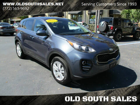 2019 Kia Sportage for sale at OLD SOUTH SALES in Vero Beach FL