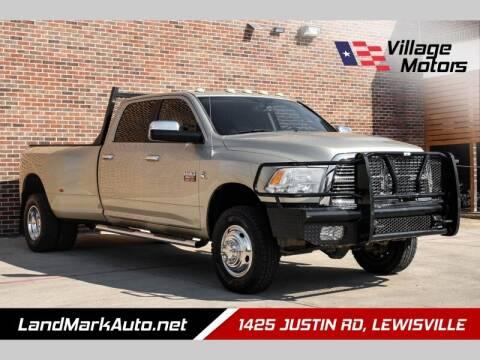 2011 RAM Ram Pickup 3500 for sale at Village Motors in Lewisville TX