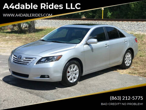 2007 Toyota Camry for sale at A4dable Rides LLC in Haines City FL