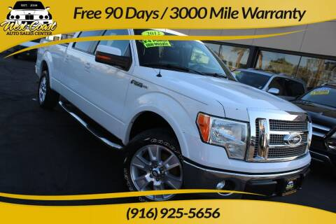 2012 Ford F-150 for sale at West Coast Auto Sales Center in Sacramento CA