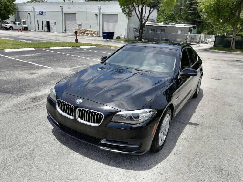 2014 BMW 5 Series for sale at Best Price Car Dealer in Hallandale Beach FL