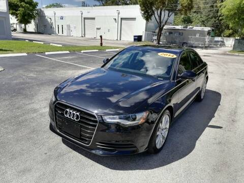 2014 Audi A6 for sale at Best Price Car Dealer in Hallandale Beach FL