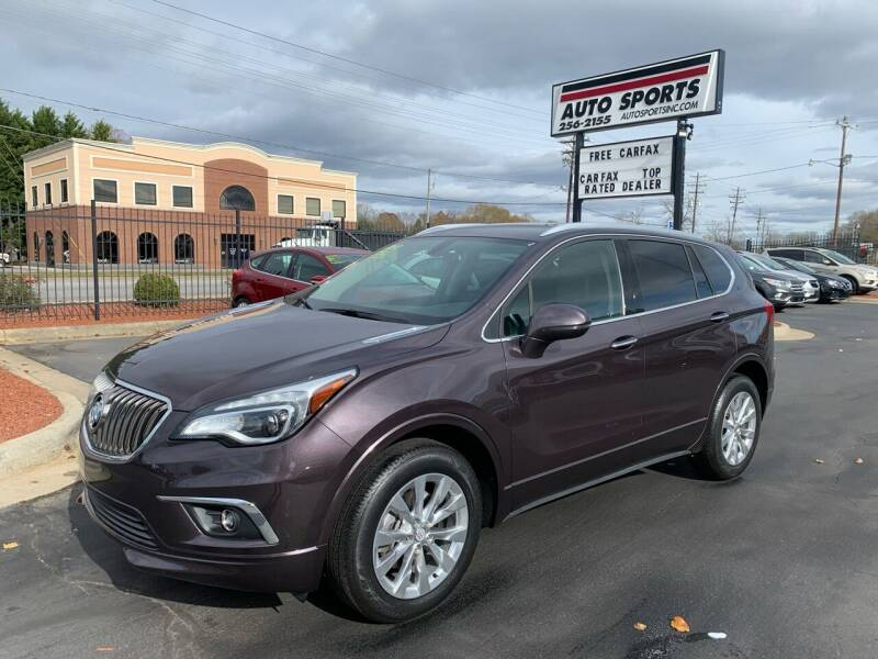 2017 Buick Envision for sale at Auto Sports in Hickory NC
