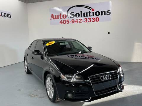 2011 Audi A4 for sale at Auto Solutions in Warr Acres OK