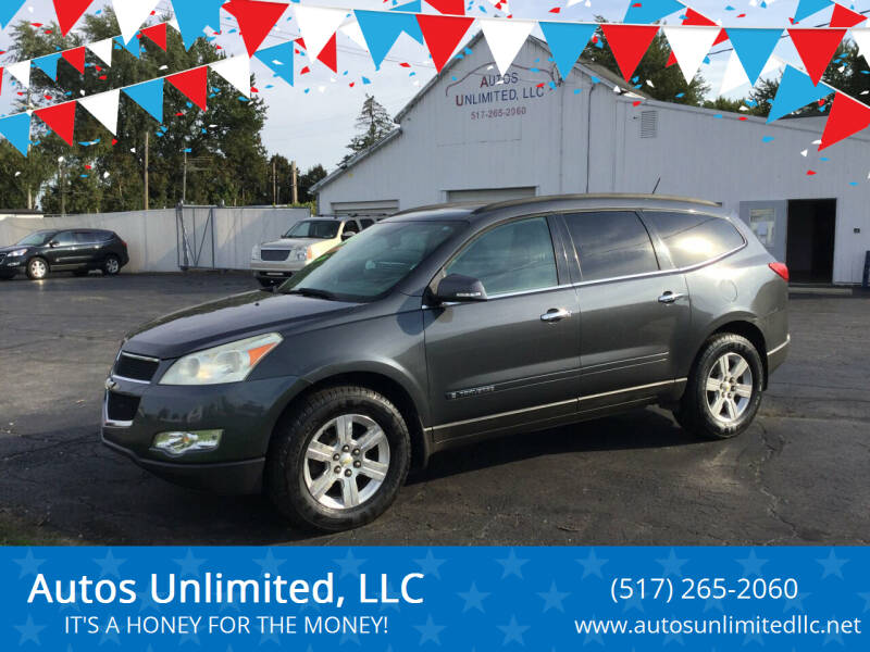2009 Chevrolet Traverse for sale at Autos Unlimited, LLC in Adrian MI