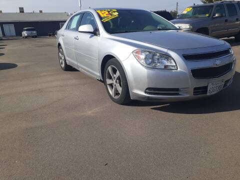 2012 Chevrolet Malibu for sale at COMMUNITY AUTO in Fresno CA