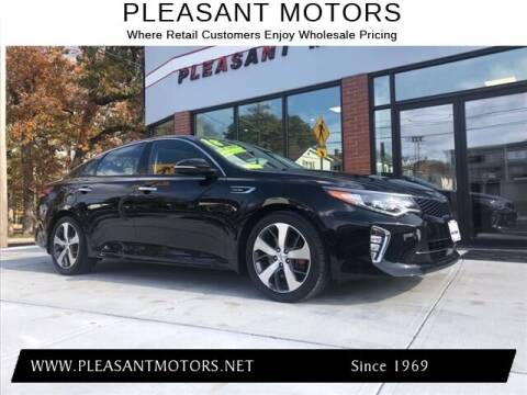 2018 Kia Optima for sale at Pleasant Motors in New Bedford MA
