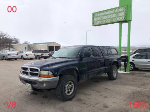 2000 Dodge Dakota for sale at Independent Auto in Belle Fourche SD