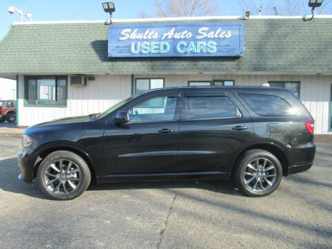 2014 Dodge Durango for sale at SHULTS AUTO SALES INC. in Crystal Lake IL