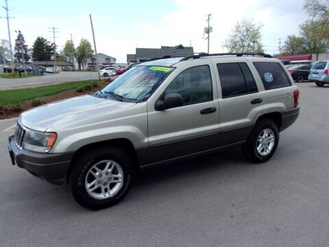 2003 Jeep Grand Cherokee for sale at Ideal Auto Sales, Inc. in Waukesha WI