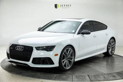 2017 Audi RS 7 for sale at Jetset Automotive in Cedar Rapids IA