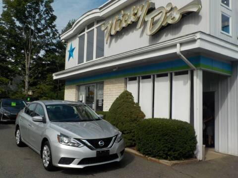 2017 Nissan Sentra for sale at Nicky D's in Easthampton MA