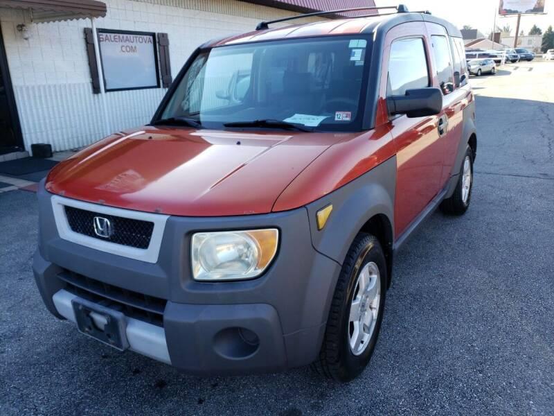 2003 Honda Element for sale at Salem Auto Sales in Salem VA