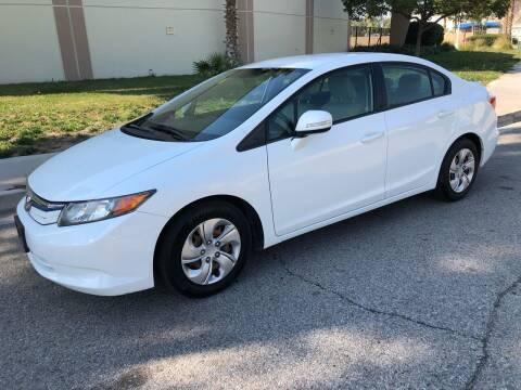 2012 Honda Civic for sale at C & C Auto Sales in Colton CA