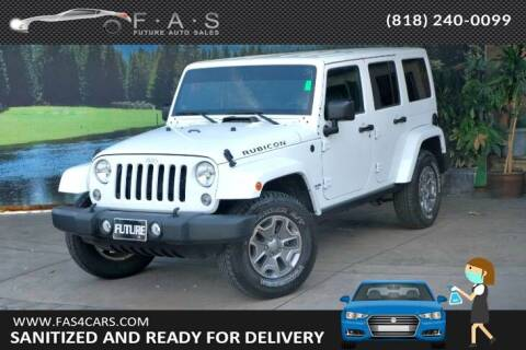 2014 Jeep Wrangler Unlimited for sale at Best Car Buy in Glendale CA