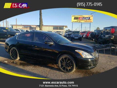 2012 Nissan Altima for sale at Escar Auto in El Paso TX
