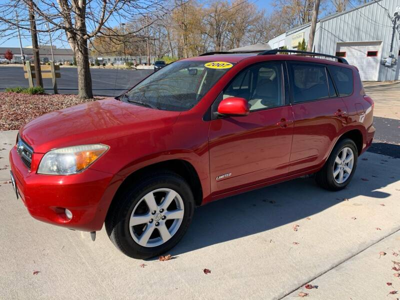 2007 Toyota RAV4 Limited 4dr SUV 4WD V6 - East Peoria IL