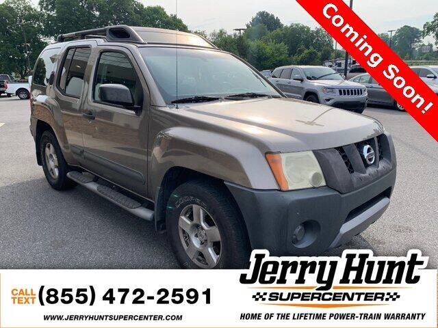 2005 Nissan Xterra for sale at Jerry Hunt Supercenter in Lexington NC