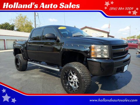 2009 Chevrolet Silverado 1500 for sale at Holland's Auto Sales in Harrisonville MO