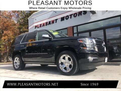 2017 Chevrolet Tahoe for sale at Pleasant Motors in New Bedford MA