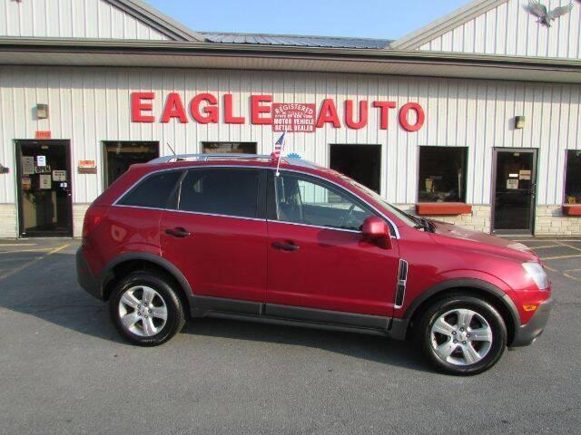 2013 Chevrolet Captiva Sport for sale at Eagle Auto Center in Seneca Falls NY