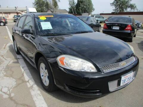 2013 Chevrolet Impala for sale at F & A Car Sales Inc in Ontario CA
