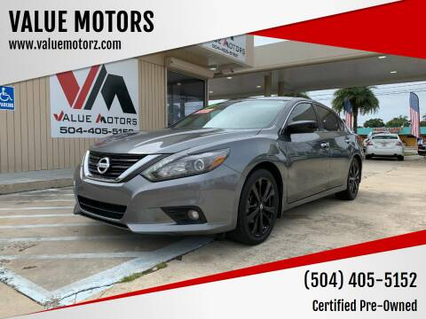 2017 Nissan Altima for sale at VALUE MOTORS in Kenner LA