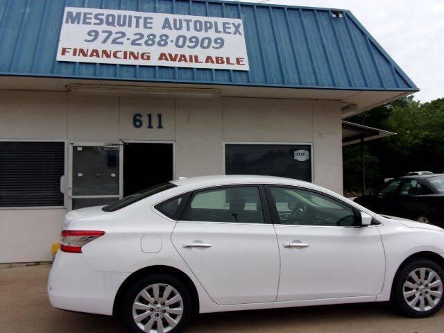 2015 Nissan Sentra for sale at MESQUITE AUTOPLEX in Mesquite TX