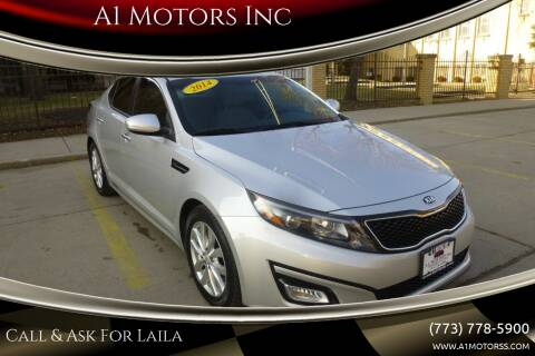 2014 Kia Optima for sale at A1 Motors Inc in Chicago IL