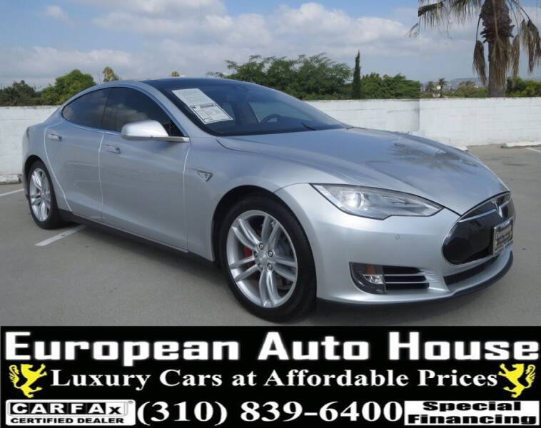 2014 Tesla Model S for sale at European Auto House in Los Angeles CA