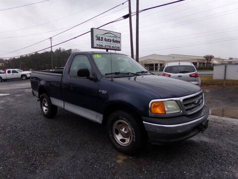 2004 Ford F-150 Heritage for sale at J & D Auto Sales in Dalton GA
