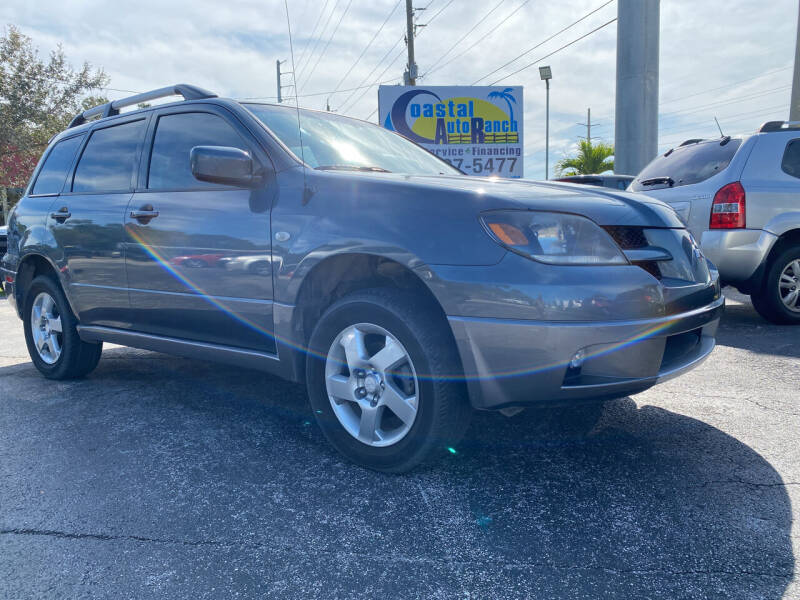 2004 Mitsubishi Outlander for sale at Coastal Auto Ranch, Inc. in Port Saint Lucie FL
