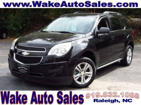 2015 Chevrolet Equinox for sale at Wake Auto Sales Inc in Raleigh NC