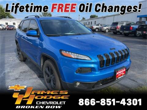 2018 Jeep Cherokee for sale at James Hodge Chevrolet of Broken Bow in Broken Bow OK