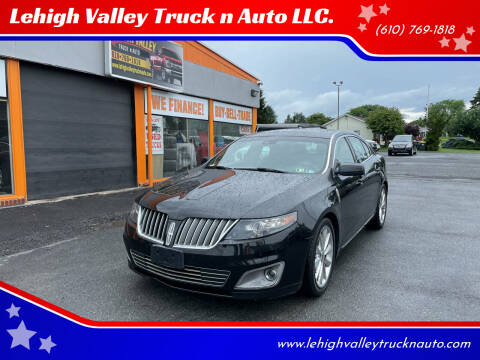 2012 Lincoln MKS for sale at Lehigh Valley Truck n Auto LLC. in Schnecksville PA