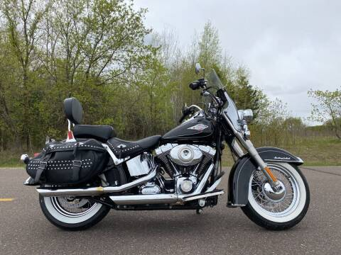 2011 HARLEY DAVIDSON HERITAGE SOFTAIL CLASSIC for sale at Sand's Auto Sales in Cambridge MN