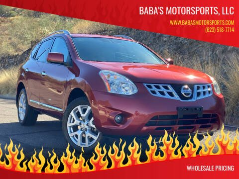 2012 Nissan Rogue for sale at Baba's Motorsports, LLC in Phoenix AZ