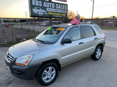 2007 Kia Sportage for sale at KBS Auto Sales in Cincinnati OH