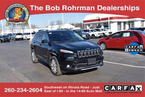 2018 Jeep Cherokee for sale at BOB ROHRMAN FORT WAYNE TOYOTA in Fort Wayne IN